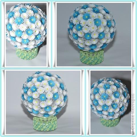 Мастер-класс Поделка изделие Квиллинг Мои цветочные шары и маленький МК запись пополняется Бумага фото 8