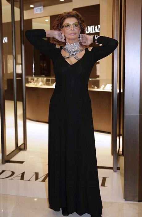Драгоценные украшения Софи Лорен