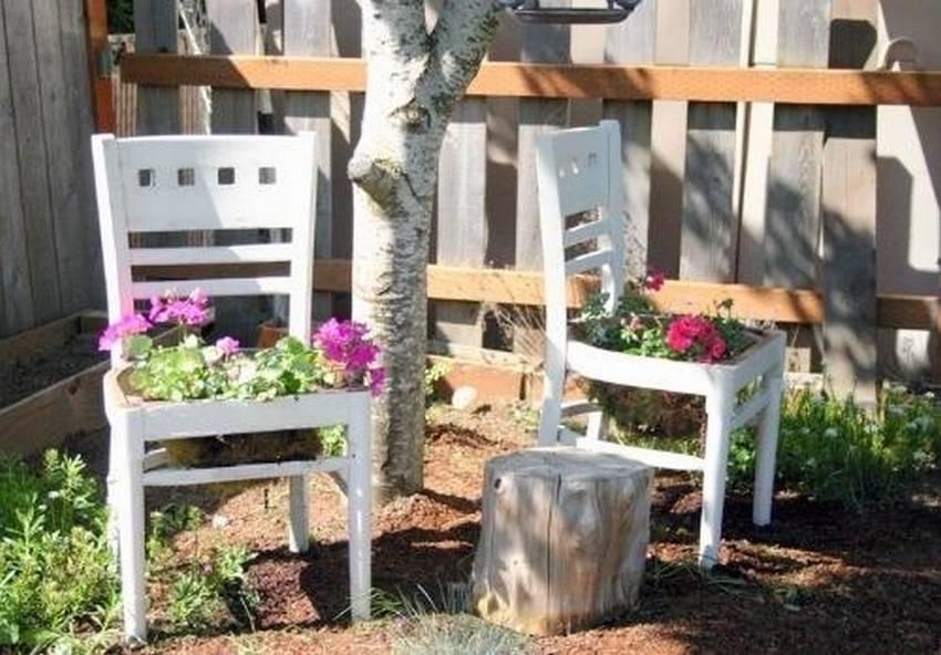 Вторая жизнь старых стульев: 15 фото