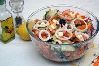 Топ - 10 самых лучших салатов !!
