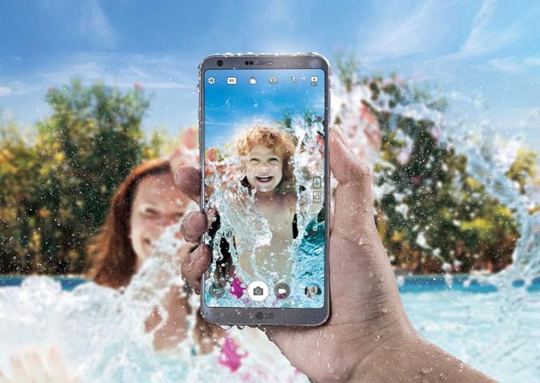 LG G6 представлен официально: 5,7-дюймовый экран с тонкими рамками, двойная камера, водонепроницаемость