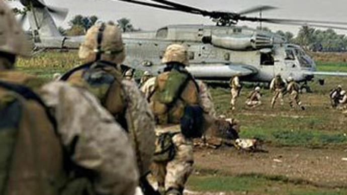 a discussion on bush sending troops to iraq and the big push plan