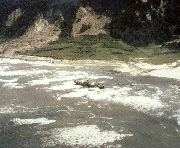 1960, землетрясение Вальдивии и цунами вода, интересное, познавательное