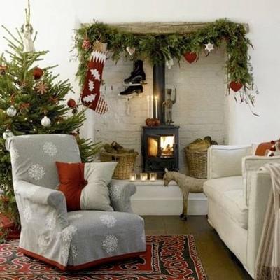Новый год в красивом доме (подборка)