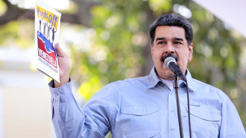 Мадуро обвинил Трампа в краж…