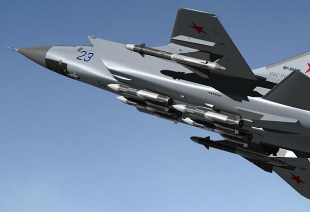 Сверхзвуковой МиГ-31 заправляется в воздухе: уникальное видео небесного аса