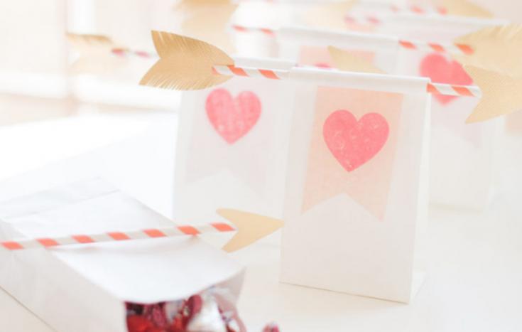 Упаковка на День Валентина