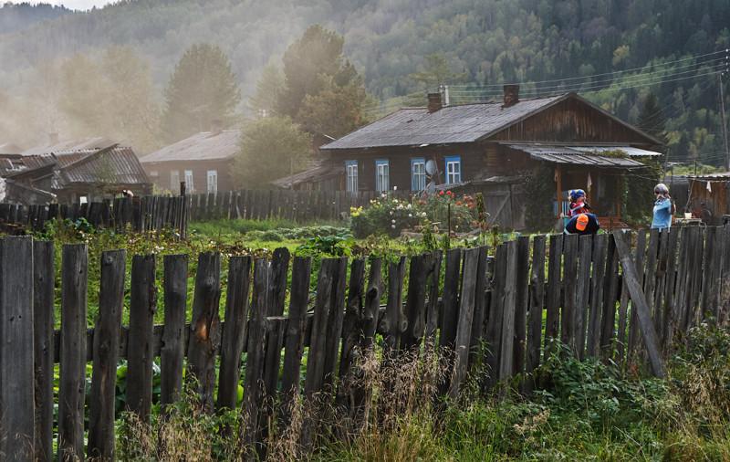 Как живёт простая сибирская деревня