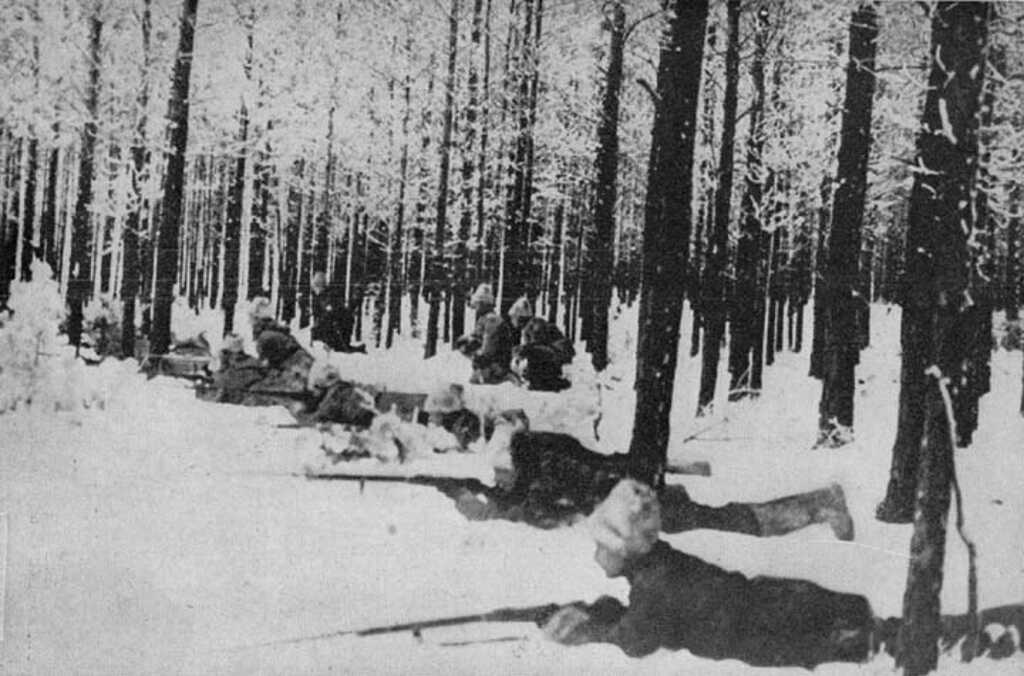 White troops in Siberia