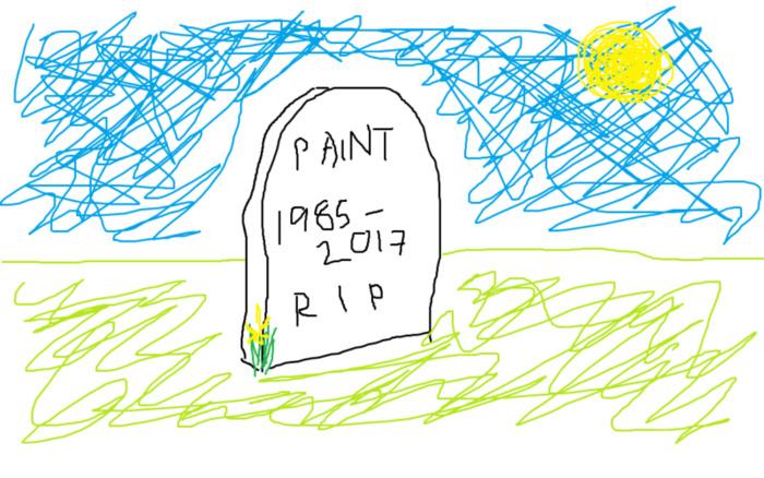 Соцсети оплакивают Paint: приложение могут убрать из новой Windows