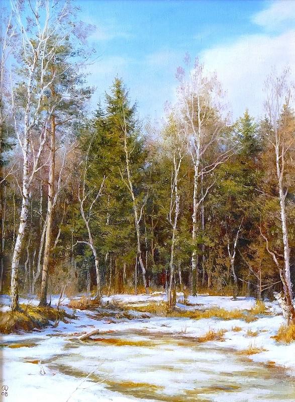 Времена года в пейзажах Олега Анастасова