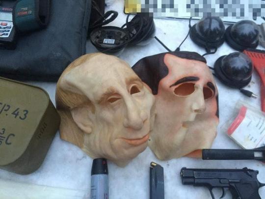 В Украине бандиты грабили ин…