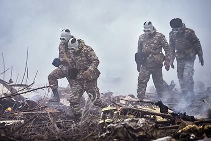 Бишкек уточнил число погибших в авиакатастрофе