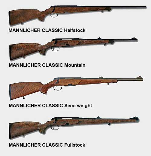 Карабин Steyr Classic Mannlicher — обзор и характеристика