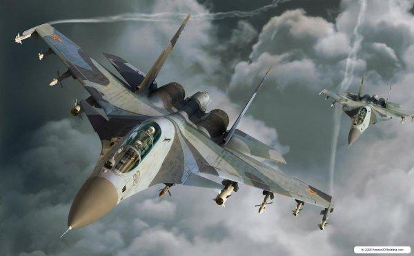 Минобороны опровергло сведения о «перехвате» российских штурмовиков истребителями США в Сирии