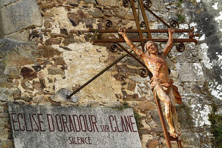 Призрак поселка Орадур-сюр-Глан