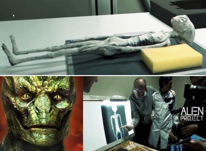 Найденная в Перу мумия принадлежит существу рептилоидного типа