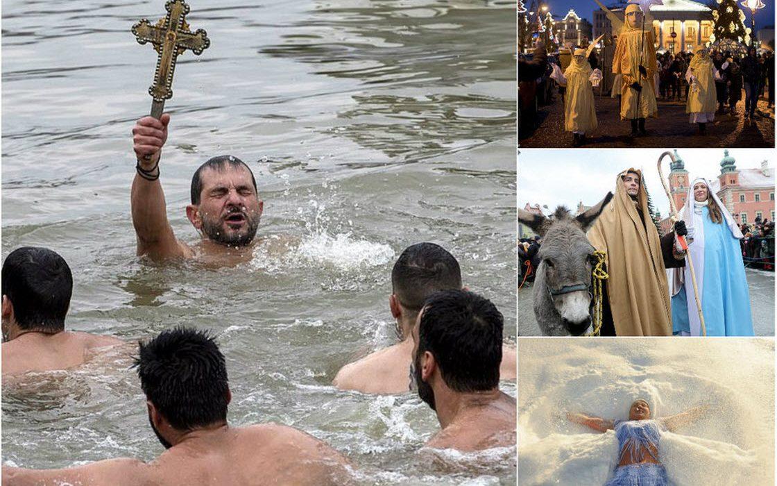 Праздник Богоявление в разных странах
