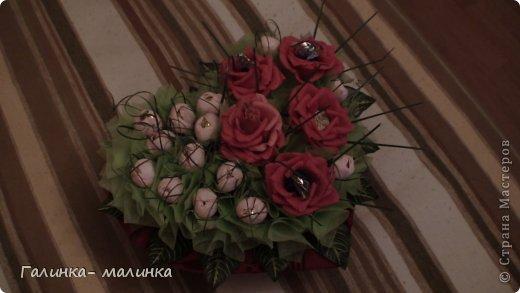 Мастер-класс 8 марта Валентинов день День матери День рождения Свадьба Сердце мини МК Бумага гофрированная Картон гофрированный Кожа фото 1