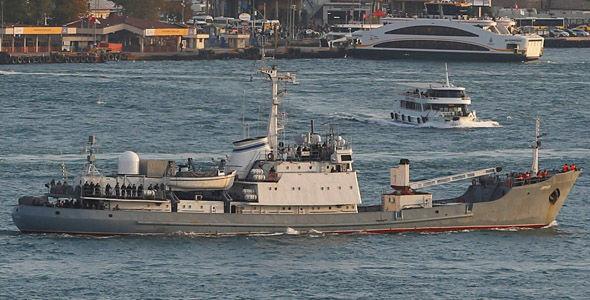 Разведывательный корабль Черноморского флота «Лиман» затонул после столкновения с торговым судном