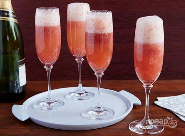 Коктейль «Шампань-коблер»