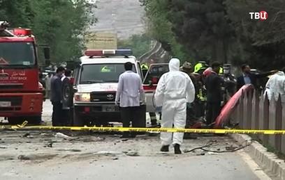 Восемь человек стали жертвами взрыва в Кабуле