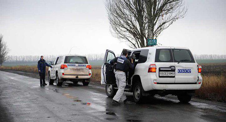 Наблюдатели ОБСЕ струсили ехать фиксировать обстрел  Докучаевска