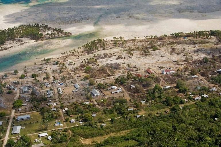 Землетрясение Самоа и цунами, 2009 вода, интересное, познавательное