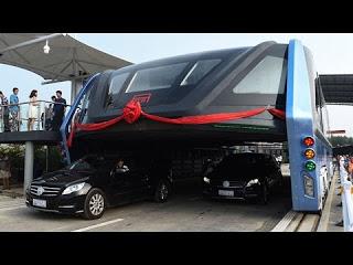 Эксперты сочли обманом автобус, который не боится пробок