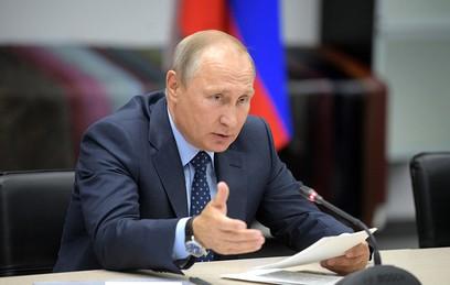 Путин потребовал установить причины пожаров в регионах