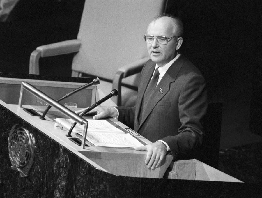 Презентацию распада СССР Гор…