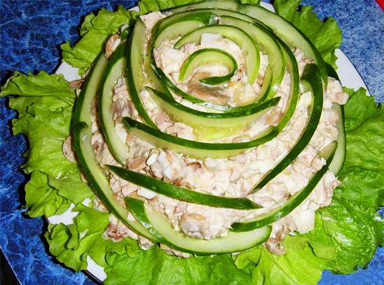 Сделать своими руками салаты