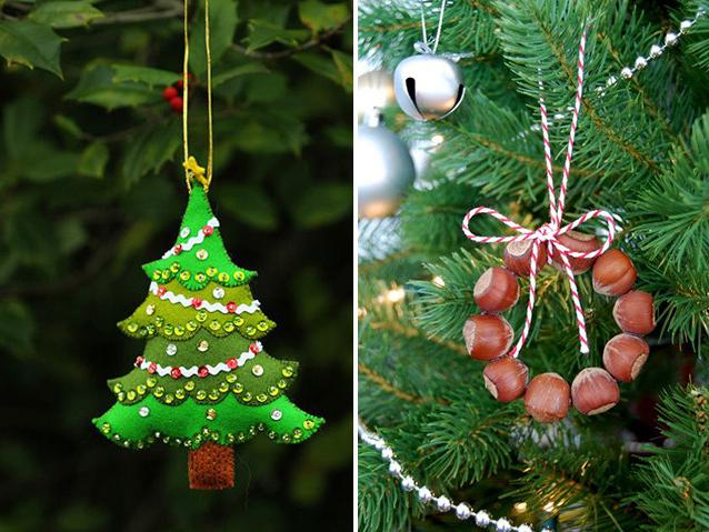 Украшение елок новогодних своими руками