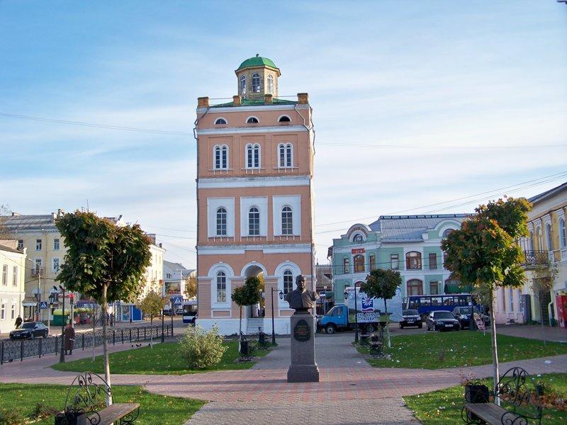 Водонапорная башня Города России, Илья Муромец, Муром, красивые места, пейзажи, путешествия, россия