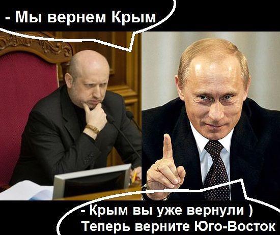 «Верните Крым!» - это что?