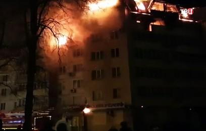 В приморском Артеме сгорел верхний этаж многоквартирного дома