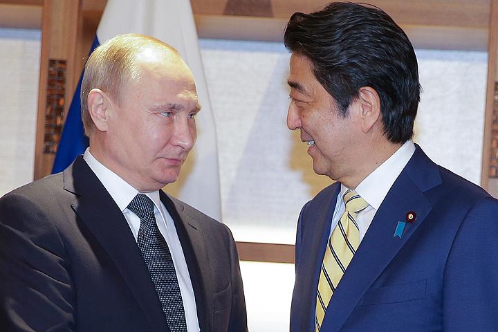 Путин рассказал, о чем говорил с Абэ