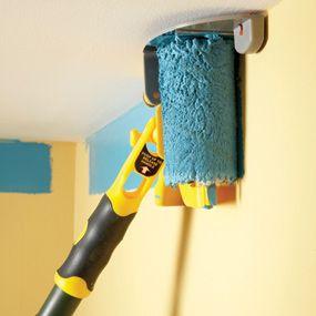 Как не покрасить потолок