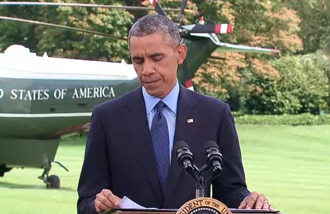 Обама: Украина пока не способна сама выгнать ополченцев