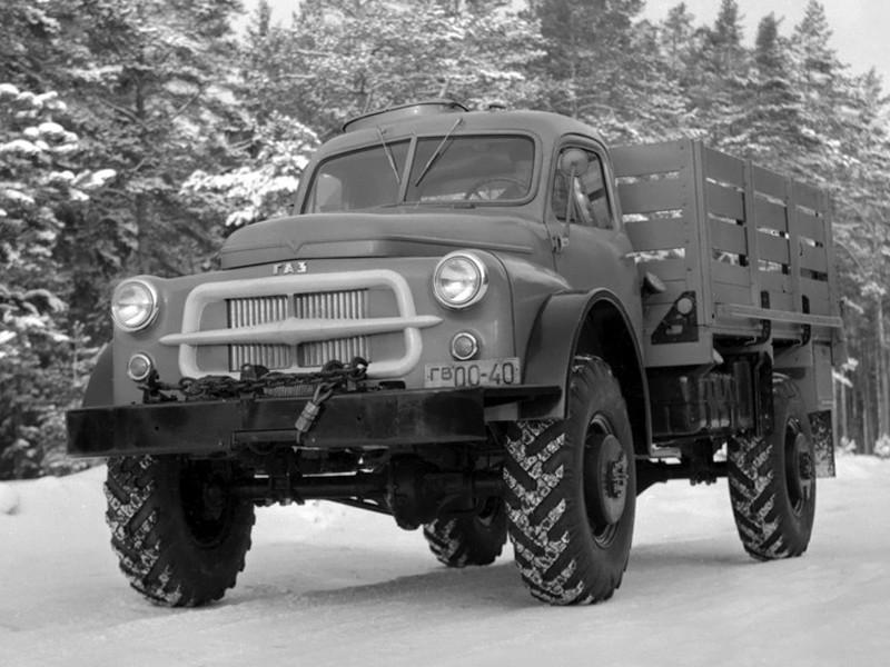 ГАЗ 66 Опытный 1956 год авто, история, факты