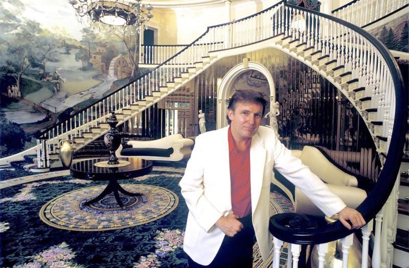 В гостях у мистера и миссис Трамп, 1987 год