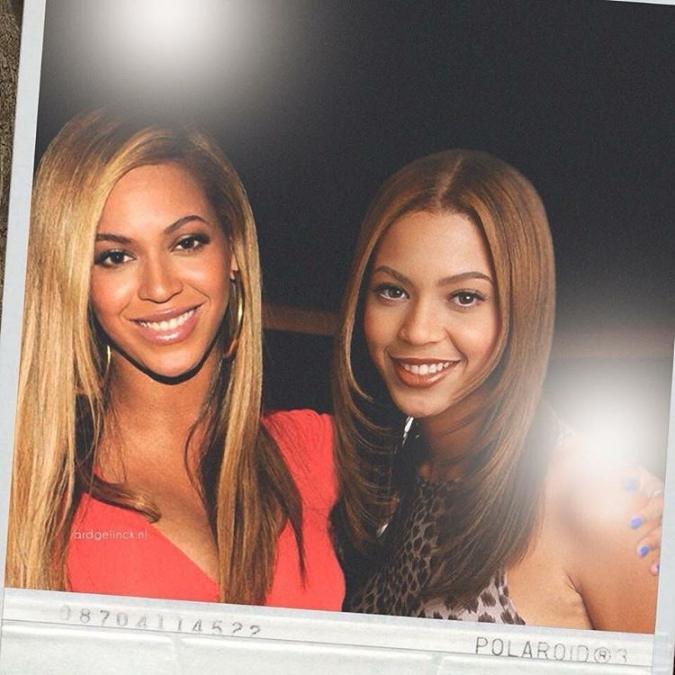 Звёзды и знаменитости с самими собой в одной фотографии
