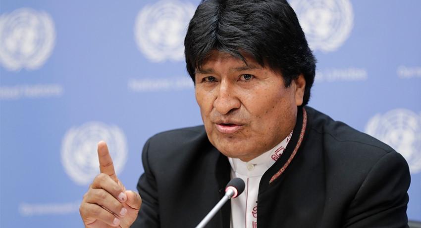 Эво Моралес заявил об угрозе…