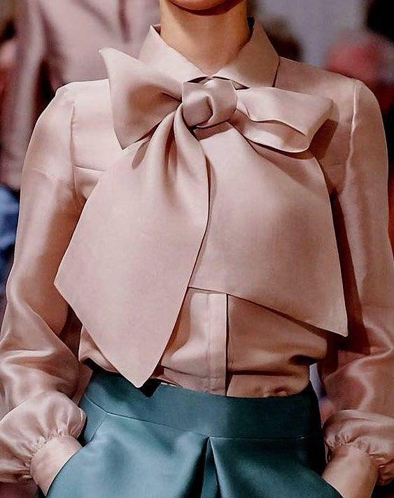 Самые модные блузки сезона весна-лето 2017
