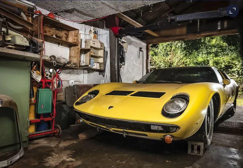 В старом сарае нашли Lamborghini за 1 млн фунтов стерлингов