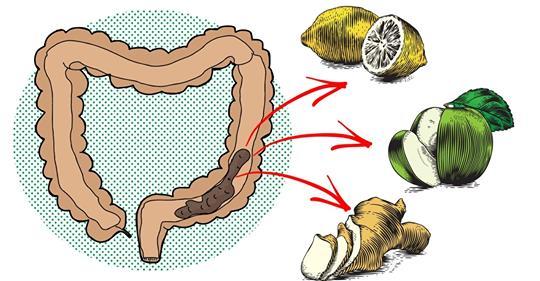 Быстрое очищение кишечника с этими 6 средствами!