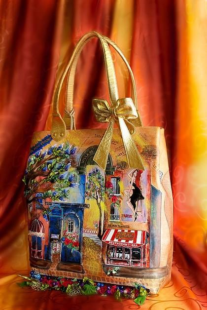 Женские сумки ручной работы. Ярмарка Мастеров - ручная работа Rachelle-Paris mon amour. Handmade.