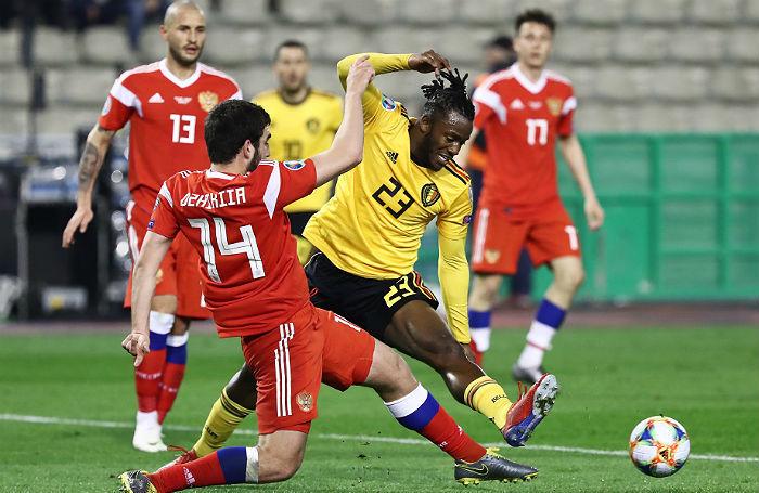 Сражались, но проиграли. Сборная России уступила Бельгии в отборочном матче «Евро-2020»