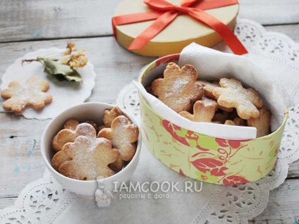 Детское печенье без молока — рецепт с фото пошагово