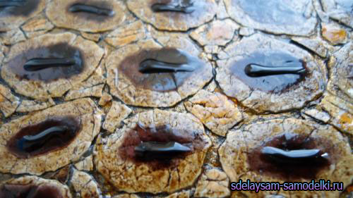 Имитация кожи (яичная скорлупа)